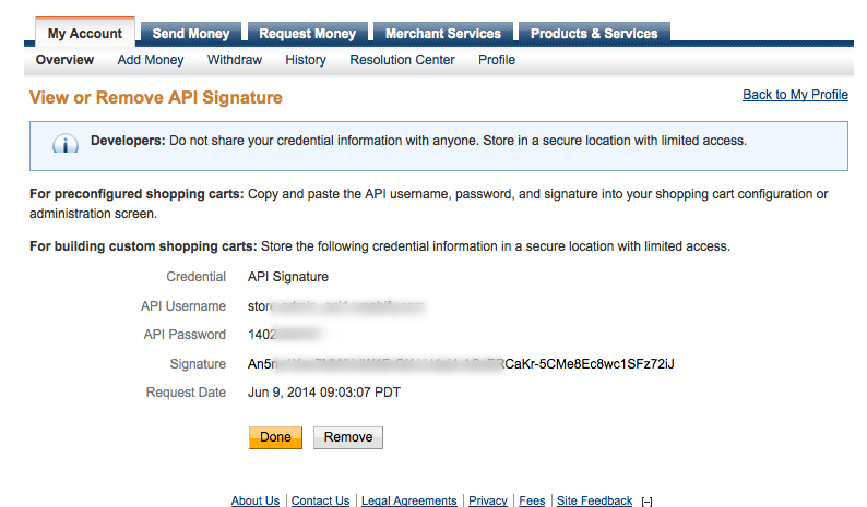 PayPal Adaptive Payments - Joobi