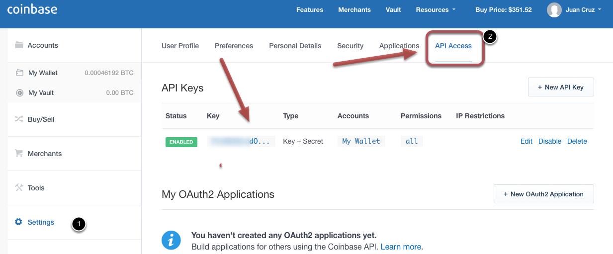 how do i create a coinbase account