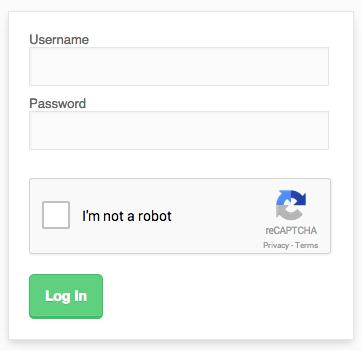 Google reCaptcha - Joobi