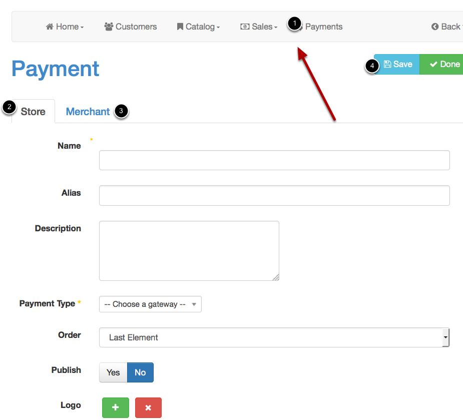 Vendors payment setup - Joobi